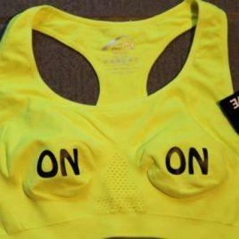 Sports Bra – Neon yellow