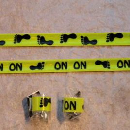 Reflective onon running band – easy to put on