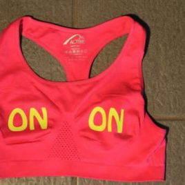 Sports Bra – neon red