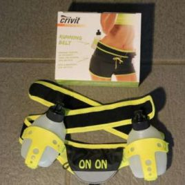 onon Running belt – neon yellow and black