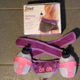 onon Running belt – neon pink and black