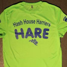 Hare shirt (performace top) neon green