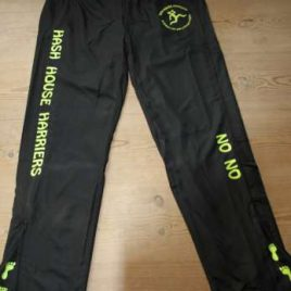 Mens Performance black Sporty trousers