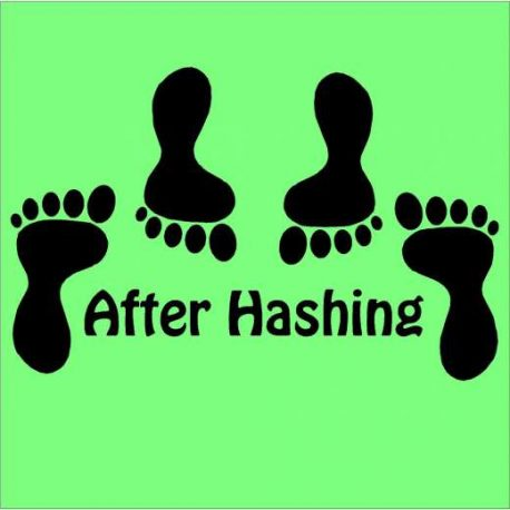 after hashing