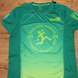 Men's Performance top green colours