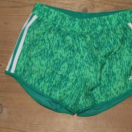 adidas mixed female running shorts size M
