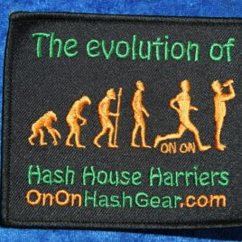Patch – Evolution of Hash House Harriers