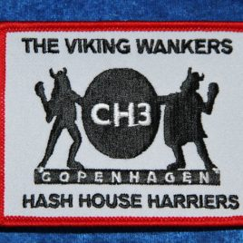 Patch – Copenhagen Hash House Harriers official