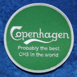 Patch – Copenhagen – Probably the best CH3 in world