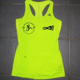 Adidas super atlethic tank top – sorry fast running