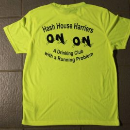 Hash t-shirt – differnt colours and different prints – with hashname