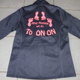 Ladies performance on on jacket