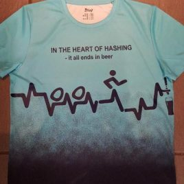 Men's hashing sports  top