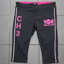 CH3 – female running knee tights