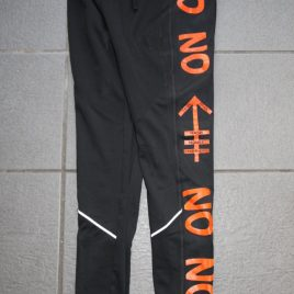 Mens warm sports trouser – Orange Line
