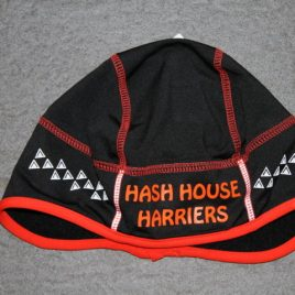 Mens hashing hat – Orange Line