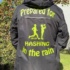 Mens Hiking/Hashing waterproff jacket