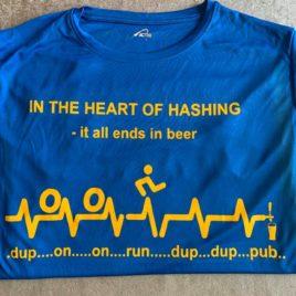 Harriers hashing shirt