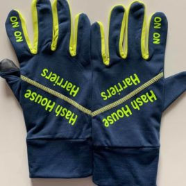 Hashers running gloves – new colour
