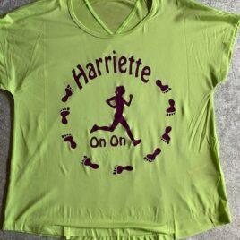 Harriette sports top